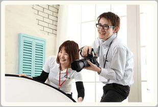お客様の最高の表情を残す写真撮影はトータルフォトスタジオCocoへ