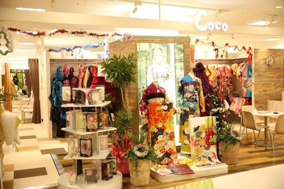 スタジオCoco 四日市店の店内ギャラリー。写真館内の雰囲気をお伝えします。