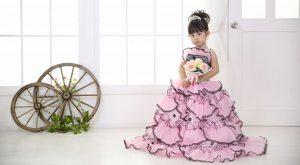 一番かわいいをわが子に!ドレス姿で素敵なプリンセスに変身
